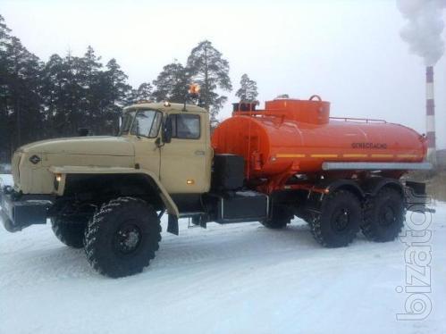 Автотопливозаправщик  АТЗ-10 на шасси Урал 4320-1912-30 без пробега