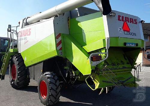 Комбайн зерноуборочный Claas Lexion 460 Evolution Год выпуска 2003.