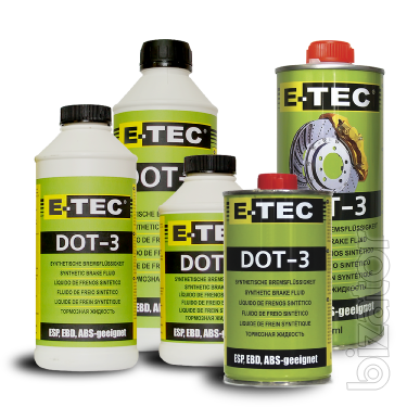 E-TEC Brake Fluid DOT-3 (Тормозная жидкость E-tec DOT-3)