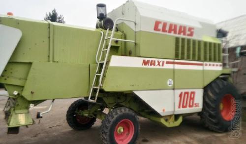 Комбайн зерноуборочный  Claas Dominator 108SL Maxi  регист 1996г