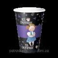 """Стаканы """"Алиса в стране чудес"""" (Фиолетовый) 25шт.упак"""