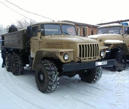 автомобиль Урал 5557 самосвал сельхозник