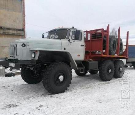 Урал 43204 лесовоз