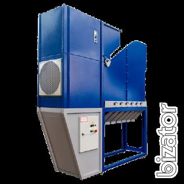 Сепаратор аэродинамический безрешетный АСМ-10, зерноочистительная машина, ворохоочиститель, веялка, калибратор