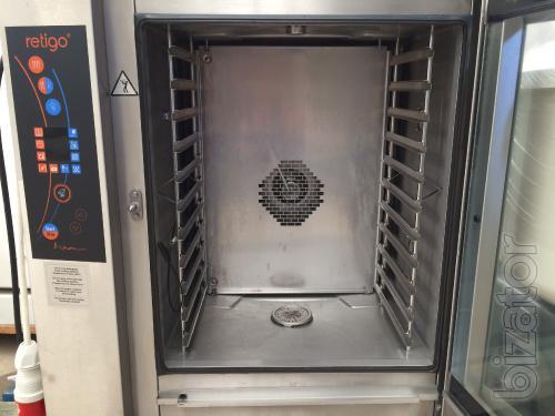 Combi oven Retigo Orange Vision Extra 1011 ic