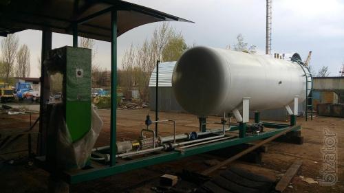 Модуль газовый, АГЗС, АГЗП, газовая заправка