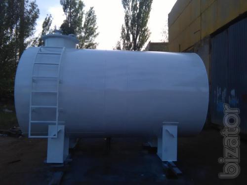 Резервуары для нефтепродуктов ГСМ, резервуар РГС