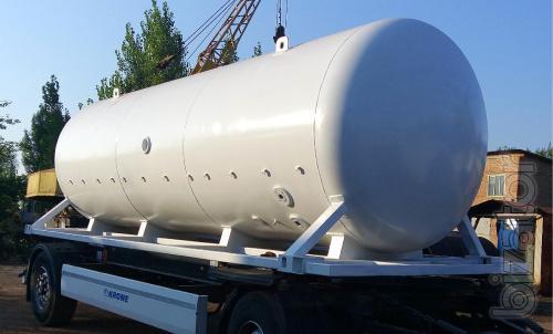Автоцистерна БДФ, транспортная цистерна контейнерного типа для пропана 20, 22 и 25 м3