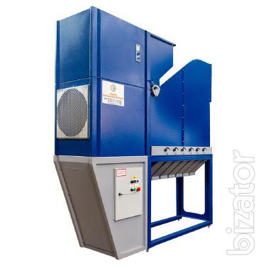 Сепаратор зерноочистительный АСМ-30, зерноочистительный сепаратор, очиститель вороха зерна