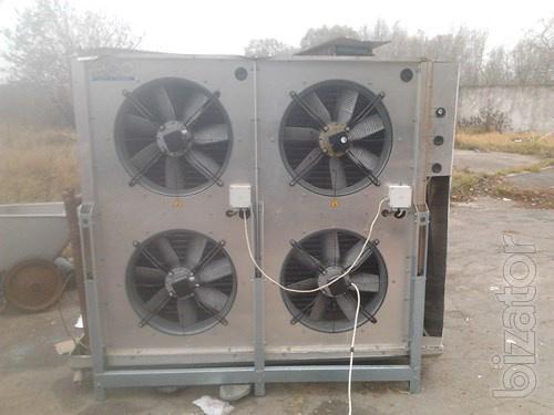 Продам воздухоохладитель для шоковой заморозки ЕСО SRE45A12ED , Италия, 2008 г., мощность 21.4 Квт на -38 кипения, б.у.