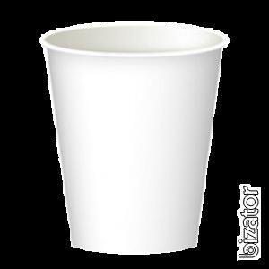 Стаканы бумажные 300 мл. 50шт/уп белые