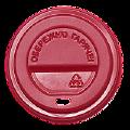 Крышка на стакан КР69 50шт.(50/2500) (175мл) Красная