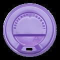 Крышка на стакан КВ80 50шт.(40/2000) (340мл) Фиолетовая