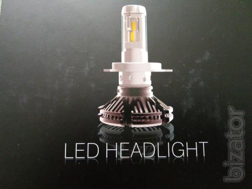 Светодиодные лампы G7S - h4 головного света - альтернатива Би ксенону в рефлекторную оптику.