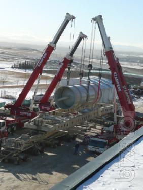 Аренда крана 100 тонн, 160 тонн, 200 тонн, 250 тонн, 300 тонн, 350 тонн, 400 тонн, 500 тонн