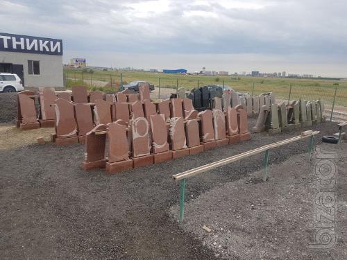 Гранитные памятники в Астане