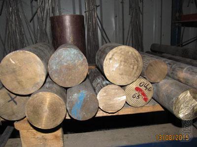 Прутки бронзовые БрОЦС 555, порезка