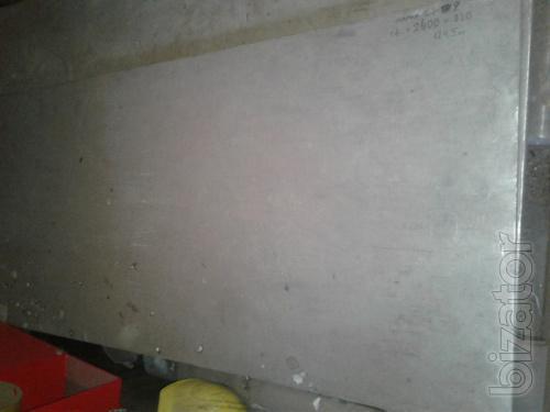Титановый лист ОТ4 - 16х820х2400 мм