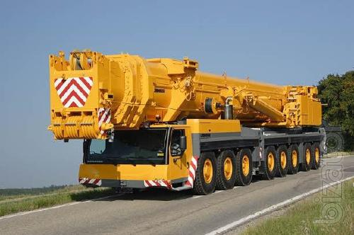 Аренда крана 500 тонн, аренда автокрана 500 тонн, автокран 500 тонн