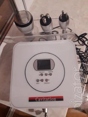 Продам аппарат с функциями кавитации и технологий RF для лица и тела
