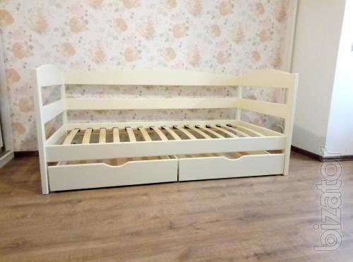 Нота Плюс - односпальная детская кровать. Бонусы к заказу.