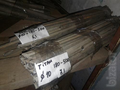 Титановый круг 10 мм