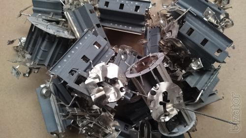 Предлагаем медную стружку, никельсодержащий металл, навесные элементы с плат.