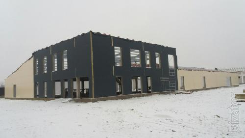 Металеві конструкції  у Білій Церкві. Розширення фабрик