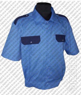 Рубашки форменные с коротким рукавом