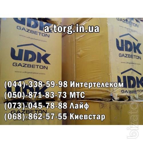 Лотковый газоблок UDK-U Block, автоклавный газоблок газобетон UKD Omni-Block 500 стеновой UKD Omni-Block 500, газобетон UKD Supe