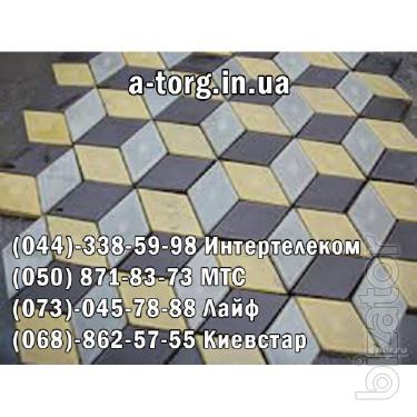 Железобетонные блоки, плиты дорожные, бордюры, дорожная и тротуарная плитка;