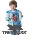 Микс новые куртки, пуховики, ветровки, одежда Trespass.Не дорого. По 15 €/кг