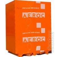 Газоблоки АЕРОК всех размеров по оптовой цене от производителя.