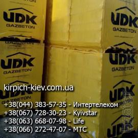 Реализуем газоблок AEROC,  Стоунлайт, UDK, Черниговский газоблок, клей для газобетона Клейзер по оптовым ценам от производителя