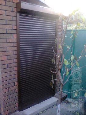 Роллеты на двери. Купить ролет на дверь. Дверные рольставни Харьков.