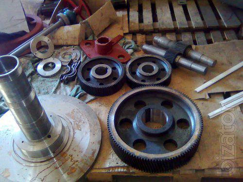 Запасные части для грануляторов марок  ОГМ 1,5; ОГМ 0,8; ДГВ; ДГ-1