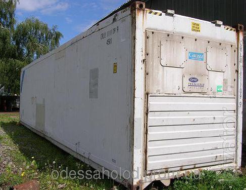 Изотермический термоизолированный контейнер 40 футов Hi Cube б/у рефконтейнер