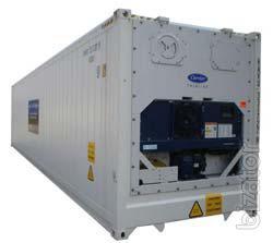Рефрижераторный контейнер с обогревом 40 футов Hi Cube б/у 2000-2001 гг. рефконтейнер