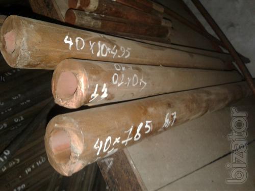 Труба М1 медная втулка ф 40х10 мм