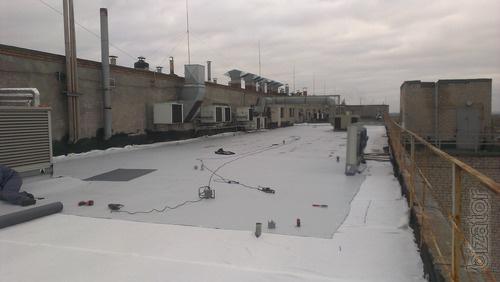 Мембранная кровля, ремонт мембранной крыши  в Вольногорске