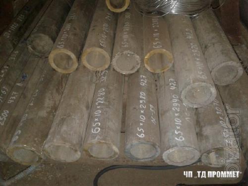Труба латунь ЛС59 труба втулка 65х10 мм