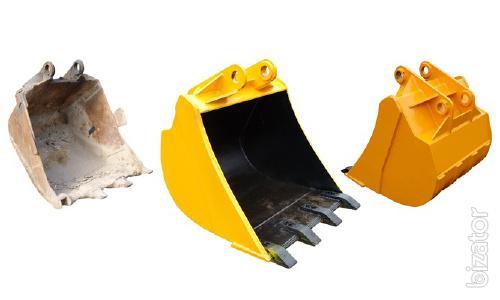 Ковши для экскаваторов. Выполним ремонт, а также изготовим под заказ ковши для экскаваторов и другой погрузочно-разгрузочной техники.