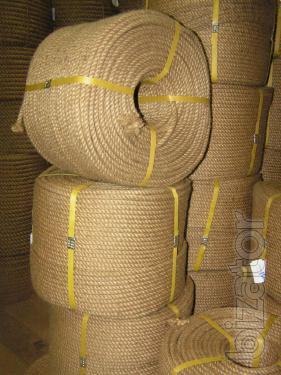 Ropes, jute finishing from Arukh