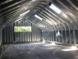 Строительство и производство сборно-разборных арочных ангаров
