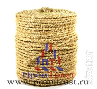 Of rope. The split. The threads. A rope. Bags.