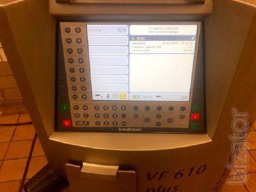 Vacuum filler Handtmann VF 610 plus