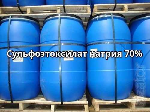Сульфоэтоксилат натрия 70%