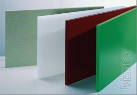Polypropylene, polyethylene, PVC, polyamide.