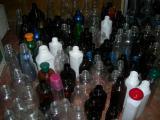PET jars. Plastic bottle, a jar, a bottle.