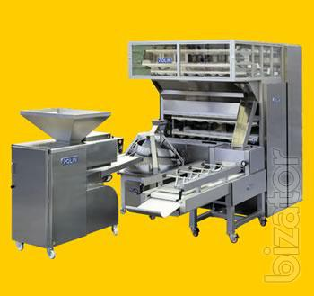 The equipment for manufacture of bread and bakery